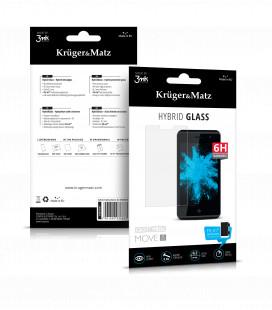 Folie protectie sticla hibrid pentru MOVE 8