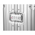 Troler aluminiu mediu argintiu