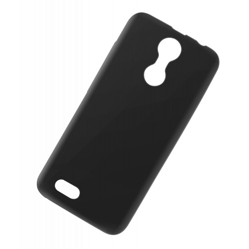 Back cover silicon -negru MOVE 8