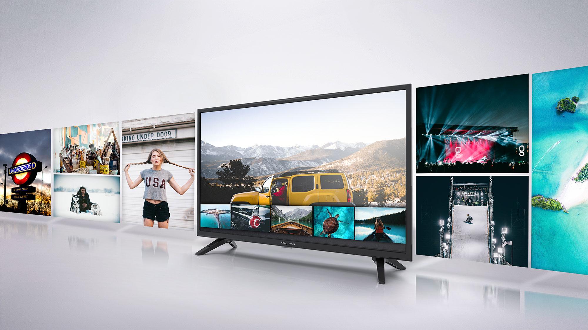 In plus, televizorul tau Kruger&Matz TV este dotat cu port USB care permite redarea filmelor preferate de pe diverse suporturi media USB, oferind confort si versatilitate.