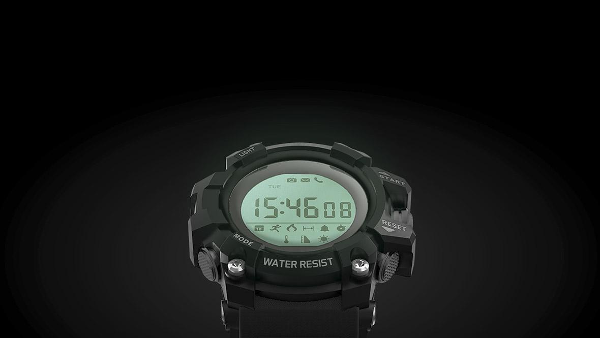 Daca afara ploua, nu inseamna ca trebuie sa renunti la antrenament, ai doar nevoie de un produs care sa fie rezistent la apa. Astfel, smartwatch-ul Activity 300 va fi perfect pentru tine.