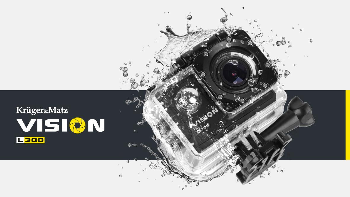 Camera sport Kruger&Matz Vision L300