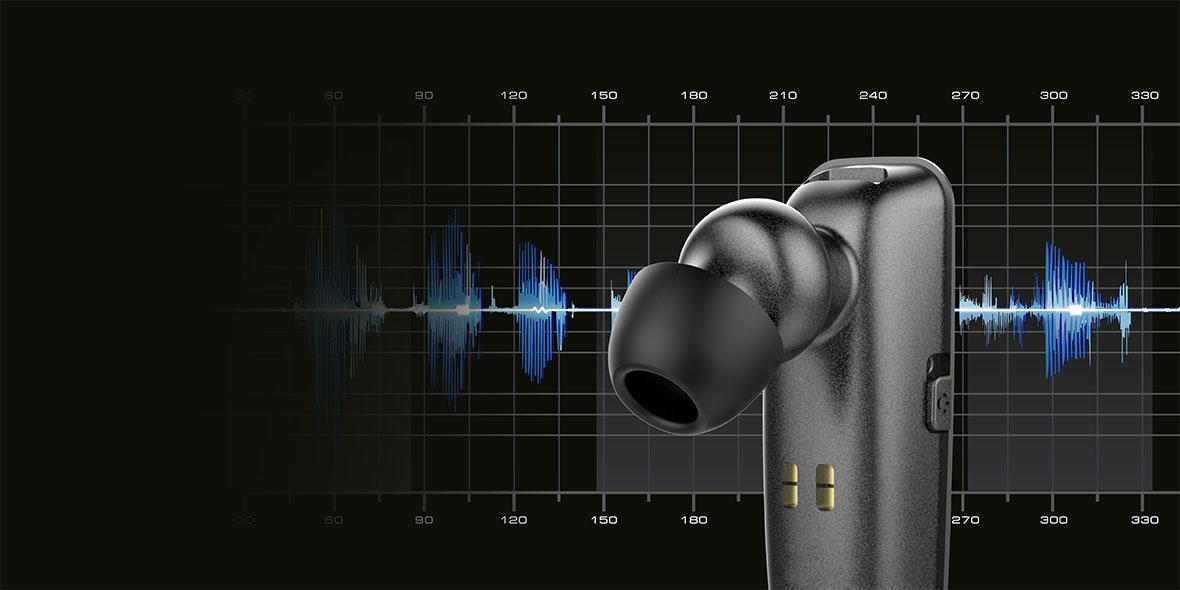Headsetul K10 este realizat in asa fel incat este confortabil la purtare si ofera un sunet de inalta calitate. Datorita functiilor de reducere a zgomotului din mediul inconjurator si HD Voice interlocutorul tau te va auzi fara probleme, fie ca esti in masina sau in aglomeratia orasului.