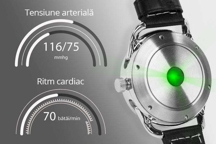 Ceas Kruger&Matz cu monitorizarea ritmului cardiac