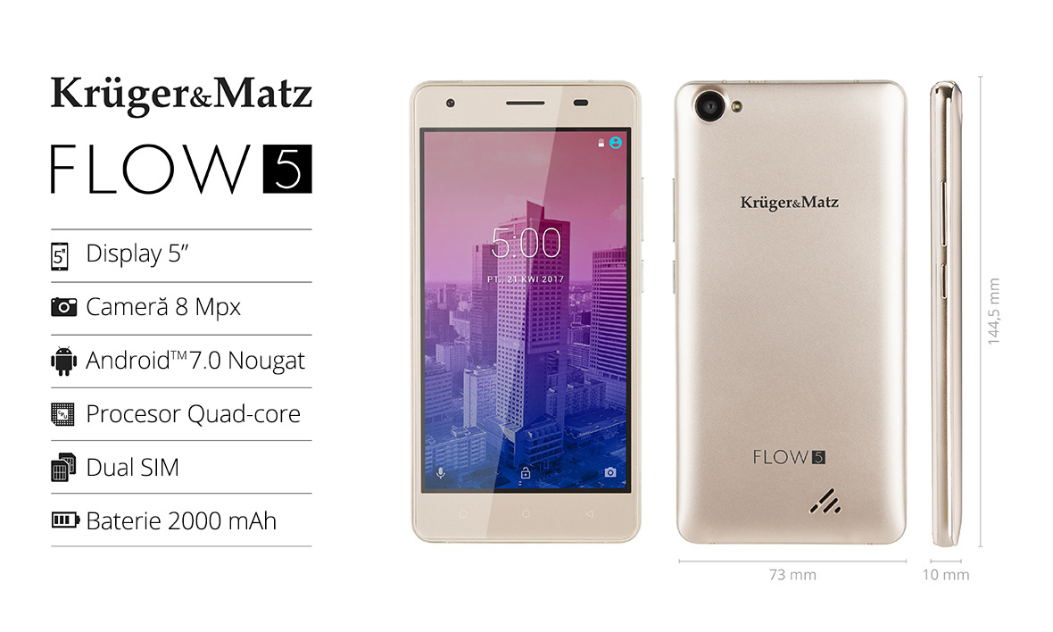 Smartphone Kruger&Matz Flow 5