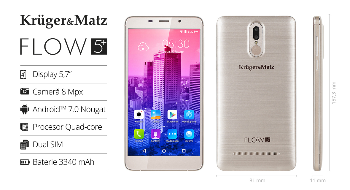 Smartphone Kruger&Matz FLOW 5+