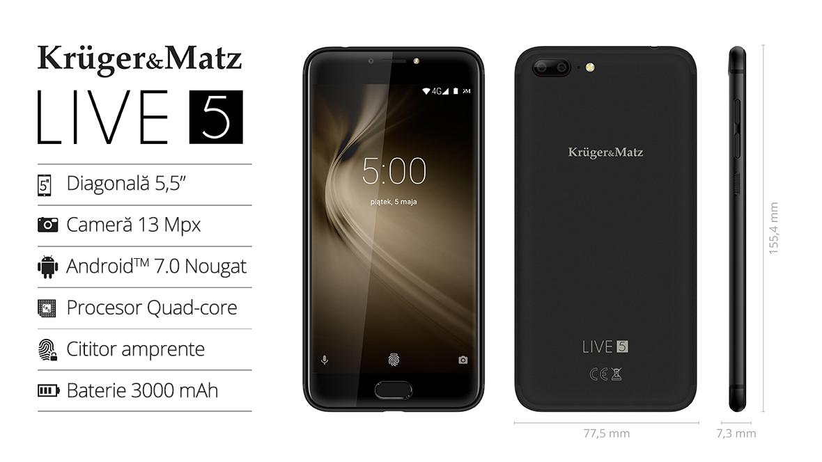 Smartphone Kruger&Matz LIVE 5