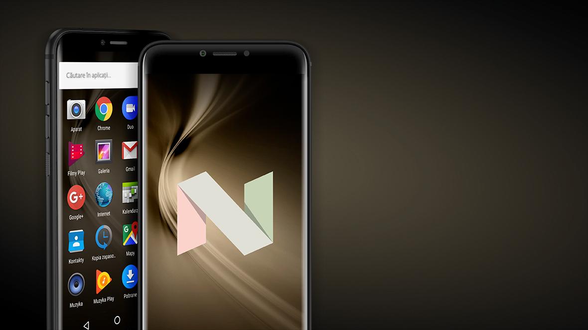 Smartphone-ul LIVE 5 este dotat cu sistem de operare cu Android 7.0 se adapteaza nevoilor tale, maximizand confortul in utilizare. Sistemul de operare Nougat iti permite sa folosesti doua aplicatii simultan, sa raspunzi la mesaje in notificari si sa reduci emisia de lumina albastra in functia Night mode.