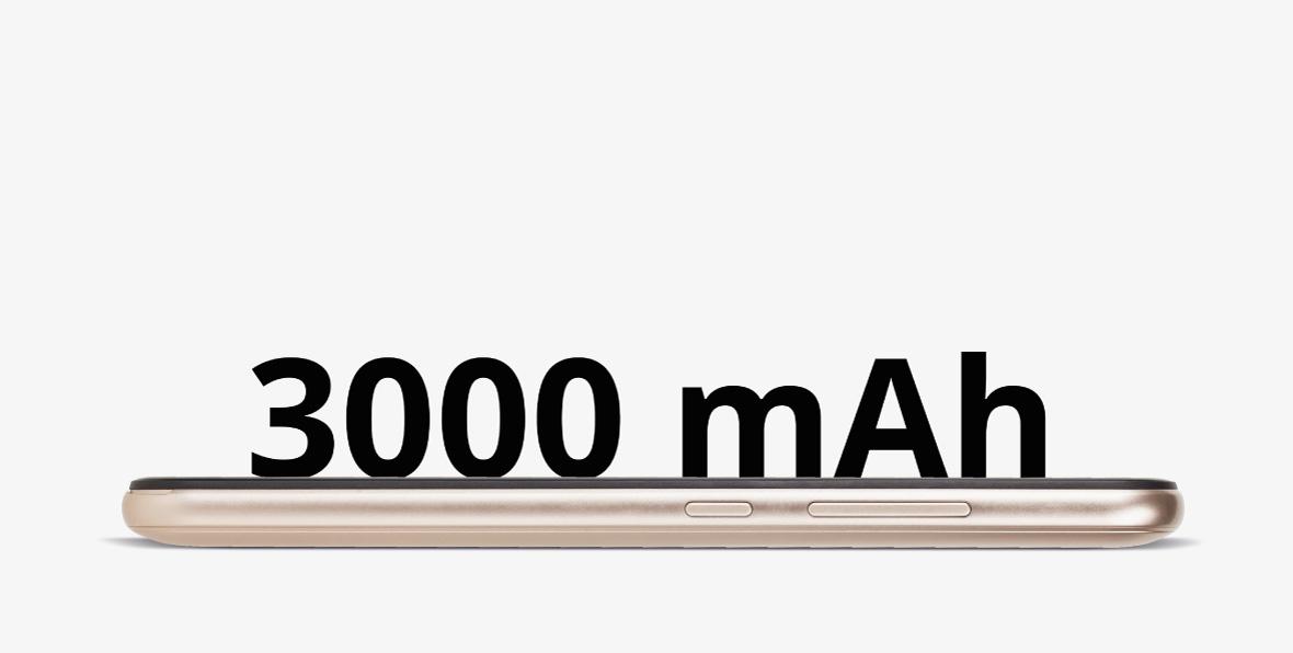 Te gandesti ca un telefon cu display de 5.5 inch va necesita incarcare frecventa? Kruger & Matz MOVE 8 este dotat cu o baterie de 3000 mAh, care iti permite sa folosesti aplicatii avansate si functiile telefonului o perioada indelungata.
