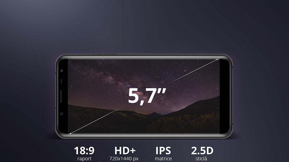 Fa cunostiinta cu un alt smartphone din seria LIVE de la Kruger&Matz – modelul LIVE 6+. Display-ul HD+ de 5.7 inch cu un raport al imaginii de 18:9 te va face sa vezi diferenta! Pe ecran poti vedea acum mai mult continut pe verticala, ceea ce va imbunatati confortul vizionarii pe Internet.