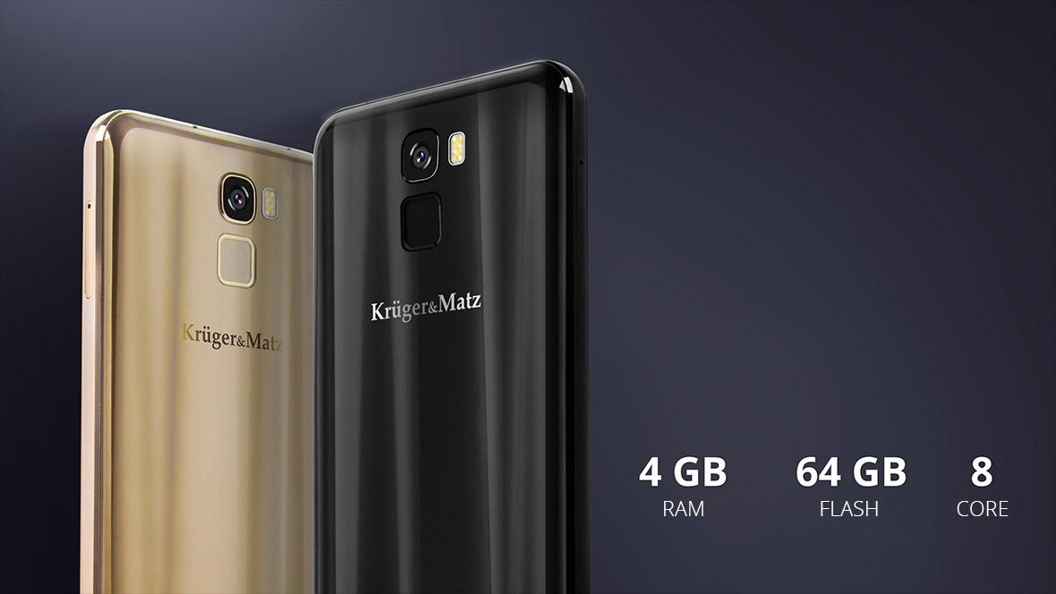 Ai nevoie de un telefon eficient? Modelul LIVE 6+ va fi alegerea perfecta! Produsul are un proccesor octa core MTK6750T, 4 GB RAM si memorie interna de 64 GB. Aceaste specificatii garanteaza o operare stabila, indiferent cat de avansate sunt aplicatiile sau functiile folosite.