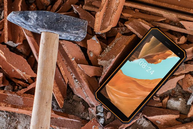 Smartphone cu Gorilla Glass