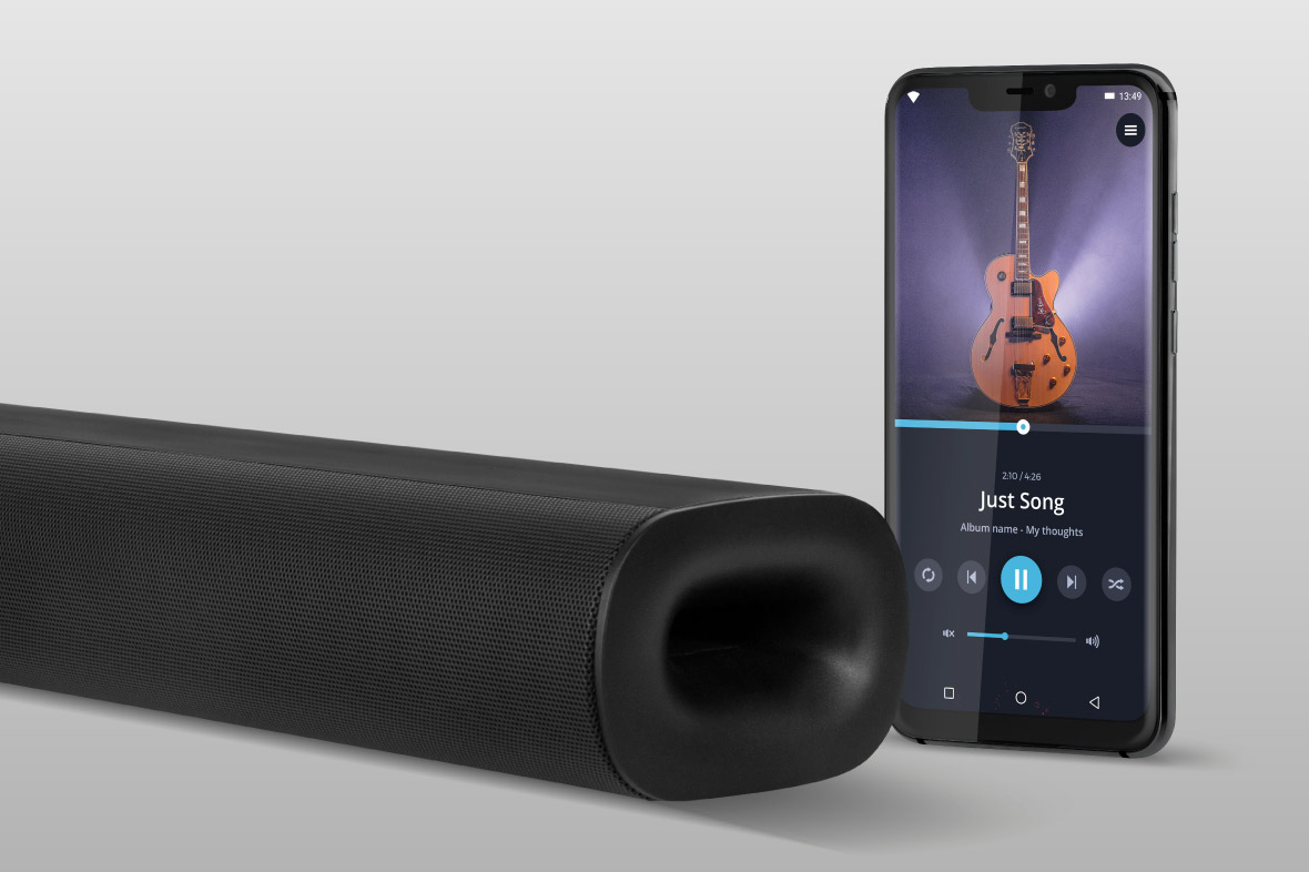 Soundbar Kruger&Matz cu Bluetooth