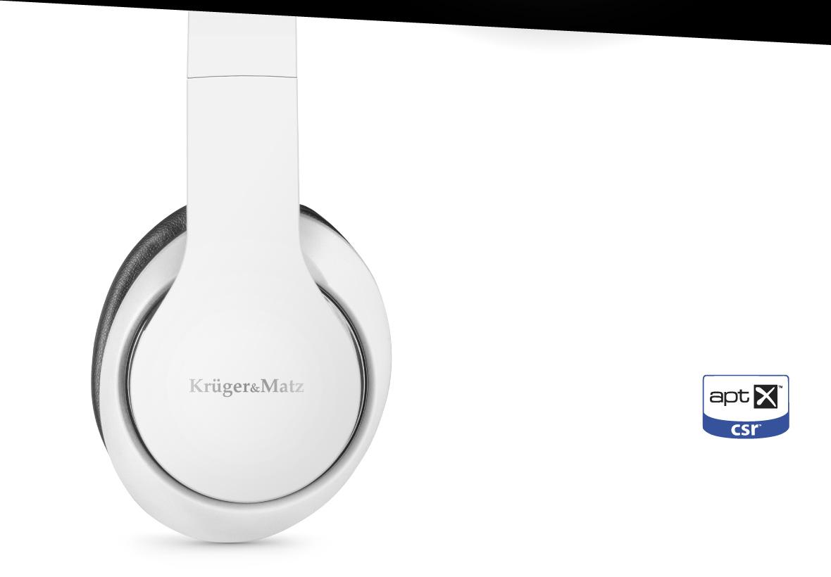 Bucura-te de calitatea muzicii wireless! Datorita tehnologiei apt-X poti asculta muzica la aceiasi calitate a sunetului ca si cea oferita de castile cu fir.