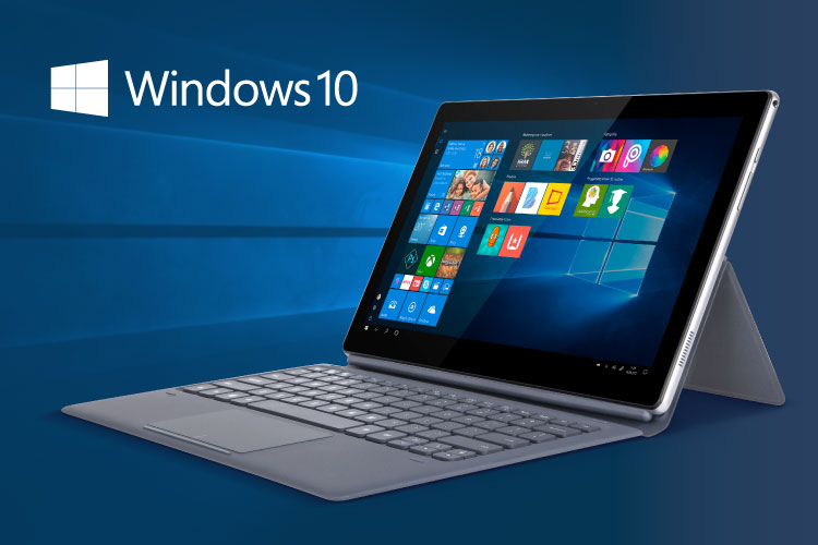 Tablet z Windows 10