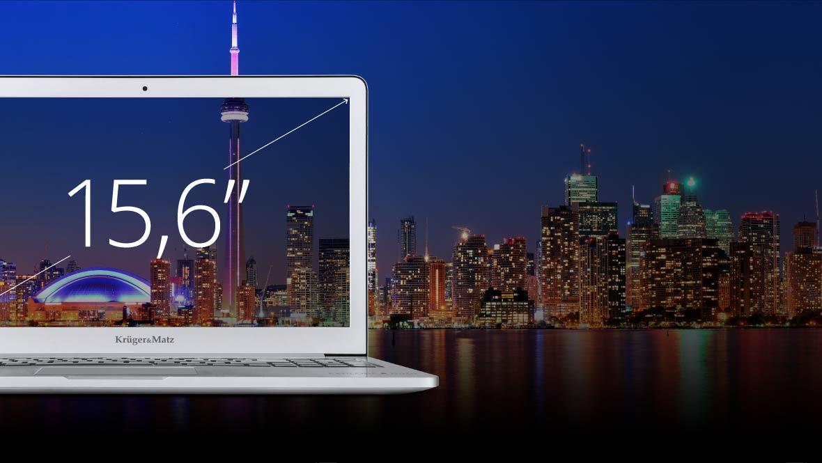 Laptopul Explore Pro 1510 are un ecran cu display IPS de 15.6