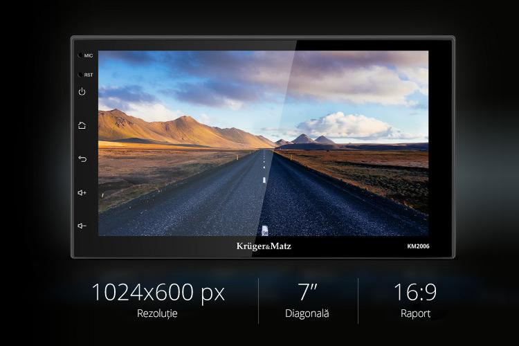 E timpul sa faci o schimbare pentru masina ta! Incepe cu un radio auto si alege modelul KM 2006 de la Kruger&Matz. Acesta are 2 DIN si ecran de tip touch screen de 5
