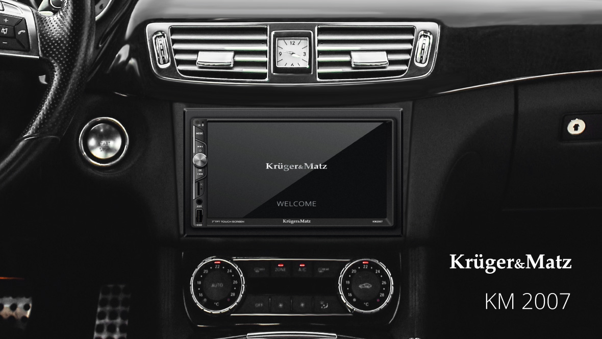 Radio auto Kruger&Matz KM 2007
