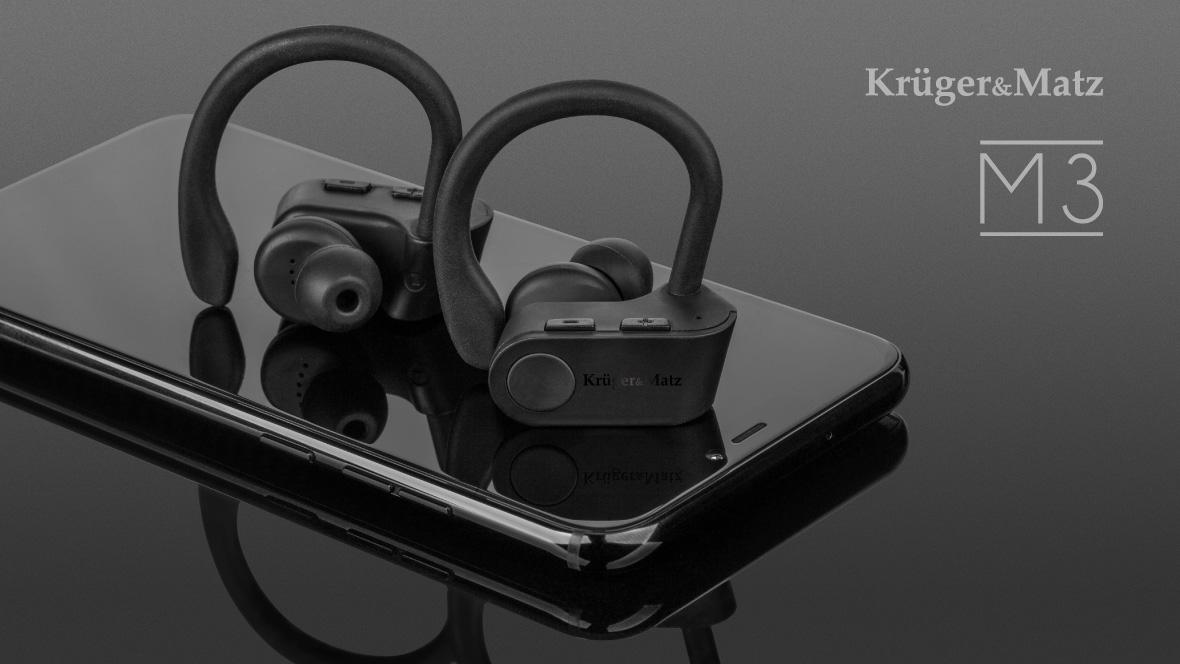 Casti wireless Kruger&Matz M3